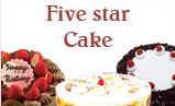 Five Star Cakes to India